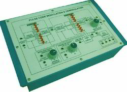 Pulse Code Modulation & Demodulation Trainer