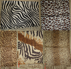 Viscose Animal Print Shawls