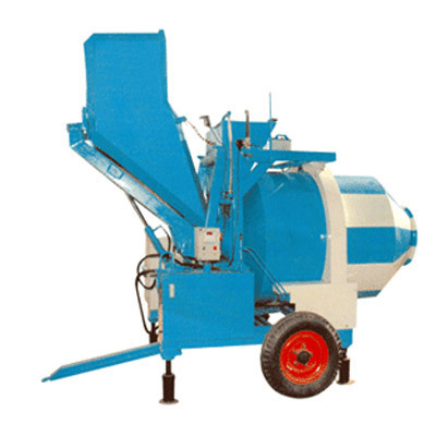 Reverse Discharge Mixer Machine