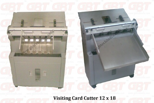 Visiting card cutter visiting card cutter manufacturer from delhi reheart Gallery