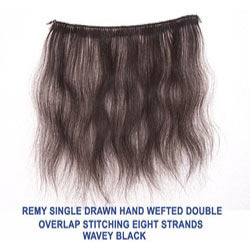 Indian Remy Machine Weft Hair