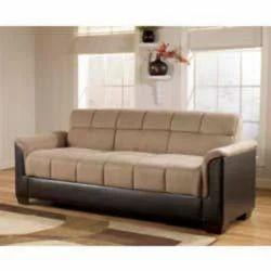 Luxury Fabric Mixed Leather Sofa