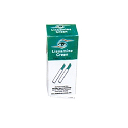 Lissamine Green Ophthalmic Strips