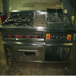 Burner Continental Cooking Range with Oven / without oven