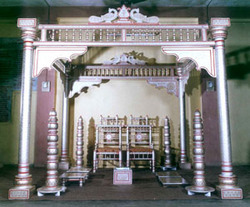 mandap square pillar