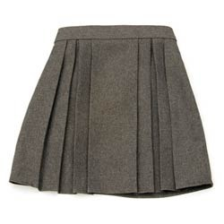 Divided School Skirts
