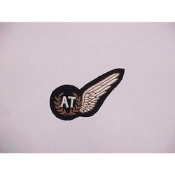 Embroidered Wings Badge