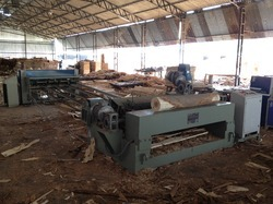 Spindleless Log Peeling Production Line / Log Peeling Machine