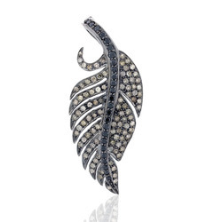 55x23MM Pave Diamond Charm Pendant