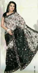 Designer Black Sarees