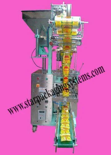 Pneumatic Namkeen Packaging Machine