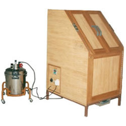 steam cabinet with steam generator