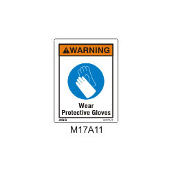 Wear Protective Gloves Sign