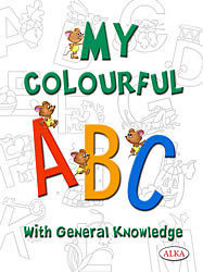 My Colourful Abc With Gk Book