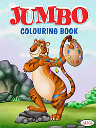 Jumbo Colouring Books
