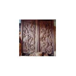 Carved Wooden Main Doors
