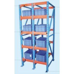 FIFO Storage Rack With Rolled Section (Model II)