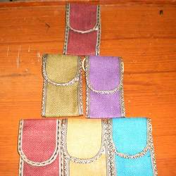 Jute Mobile Pouches