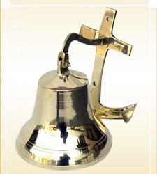 Brass Ship Anchor Bell