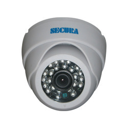 Secura SXD-1346 1/3 Inch Sony CCD Color IR  Dome Camera