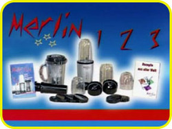 Merlin 123 Juicer Grinder Mixer Multi Blender