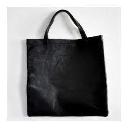 Flat Leather Bag