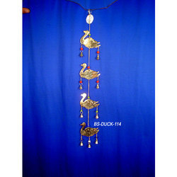 Brass Wind Chimes Hanging