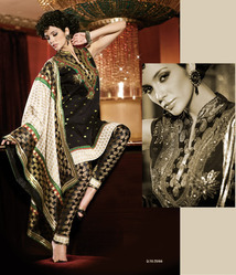 Embroidered Fabric Salwar Suit