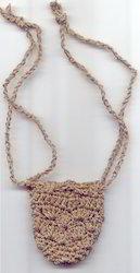 Crocheted Coin Bag