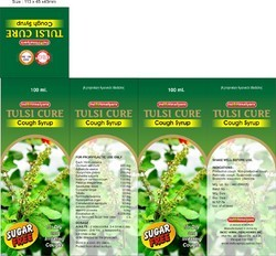 Tulsi Cure Cough Syrup