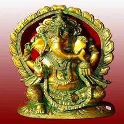 Brass Ganpati Statues