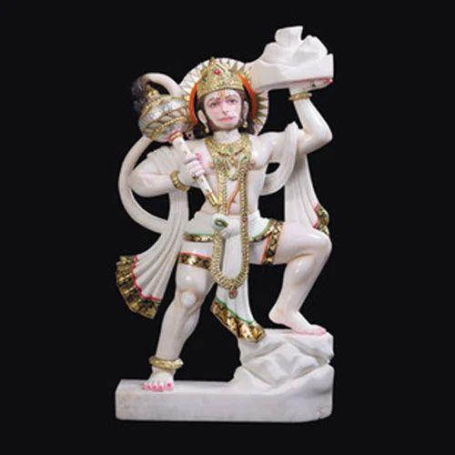 Marble Hanuman Statue God Hanuman Marble Statue