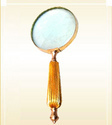 Magnifying Lense Brass Handle