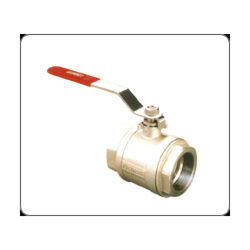 One Piece Design Full Port Screwed End 150 / 300 Lbs Rating Ball Valve