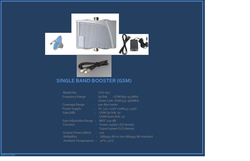 GSM Single Band Booster