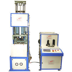 Semi Automatic Jar/ Bottle Pet Blow Molding Machines