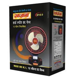 Khazana High Speed 12 Watt Rechargeable DC Fan