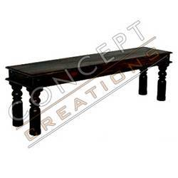 Acacia Wood Bench