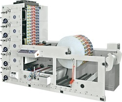 Four Color Paper Cup Printing Machine