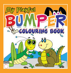 My Playful Bumper Coloring Book - Yellow