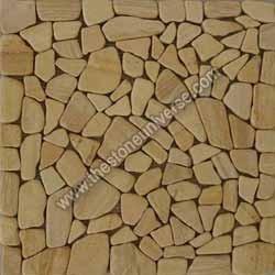 Sandstone Crazy Mosaic Tile