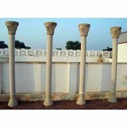 Beige Sandstone Column