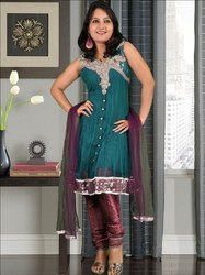 Unstitched Indian Salwar Kameez