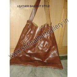 Soft Leather Bag With Cut Style