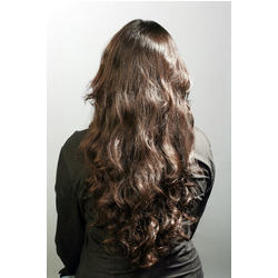 Clip On Human Hair Extensions Before And After