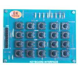 5x4 Keys Matrix Keyboard Interface Module