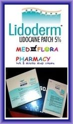 Generic Lidoderm, Lidoderm & Lidocaine Patch