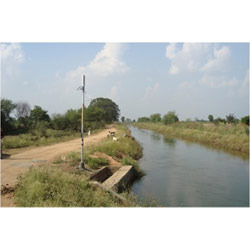 Centralized Canal Level Gauge Monitoring System