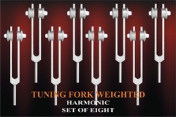 Tuning Fork Harmonic Weighted
