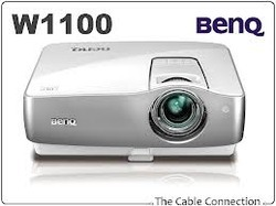Benq W-1100/ W 1100/ W1100 Home Theater Video DLP Projectors